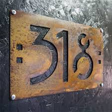 mission style home decor decorative house number signs cofisem co