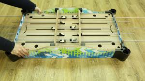 rod hockey table reviews 36 inch table top rod soccer and hockey game prototype review