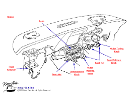 1973 corvette radio keen corvette parts diagrams