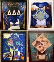 graduation memory box how to create a sorority graduation shadow