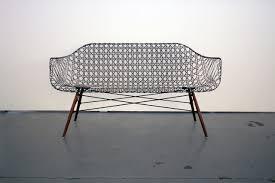 carbon fiber eames sofa by matthew strong design milk