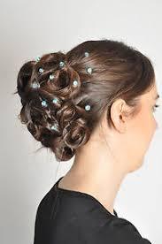 hair spirals hair gems plain hair spirals hair weddings bridesmaids