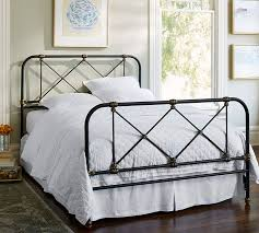 Pottery Barn Full Size Bed Atticus Iron Bed Pottery Barn