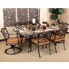 Better Homes And Gardens Azalea Ridge 4 Piece Patio Nice 5 Piece Patio Dining Set With Swivel Chairs Better Homes And