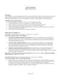 it program manager resume sample emphasizing area of expertise and