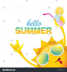 hello summer rock n roll vector stock vector 681276229 shutterstock