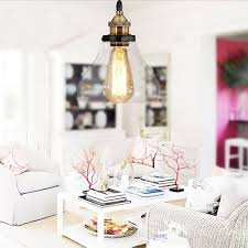 Retro Decorations For Home Online Get Cheap Glass Hanging Light Aliexpress Com Alibaba Group
