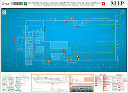 emergency u0026 fire escape plans mip ferry terminal on behance