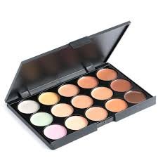 15 color professional concealer and face primer cream contour make