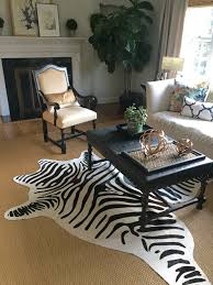 Cowhide Area Rugs Rugs Unique Interior Rugs Design With Exciting Zebra Skin Rug