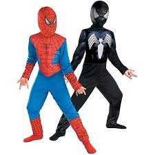 black suit halloween amazon com reversible spider man red to black classic costume