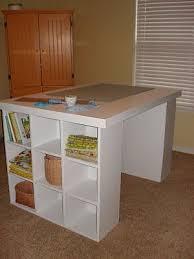 Scrapbooking Tables Desks Best 25 Craft Room Tables Ideas On Pinterest Diy Crafts Table