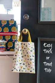 halloween bags to make easy trick or treat bag tutorial u2014 finch knitting sewing studio