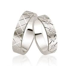 his and matching wedding bands platinum polished satin his and hers matching wedding bands 0 05