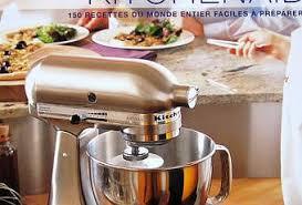 kitchenaid le livre de cuisine livre recettes kitchenaid index et photos paperblog