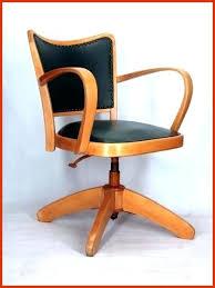 chaise de bureau en bois à chaise bureau vintage awesome chaise bureau bois chaise bois vintage