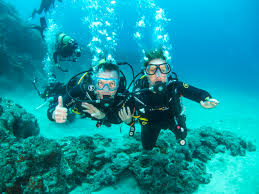 padi open water course in tenerife with aqua marina 5 dive centre
