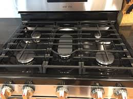 best way to clean gas range grates nx58h5600ss samsung community