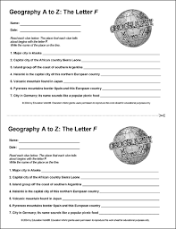 education world geography a to z the letter f