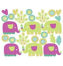 stickers elephant chambre bébé stickers chambre bébé les petits éléphants