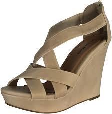 top moda ella 18 women u0027s gladiator wedge heel sandals