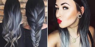 coloring hair gray trend name hair color ideas for 2018 best hair colors cosmopolitan