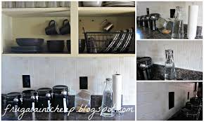 Easy To Clean Kitchen Backsplash Frugal Ain U0027t Cheap Kitchen Backsplash Great For Renters Too
