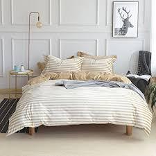 luxury velvet flannel bedding set coffee striped