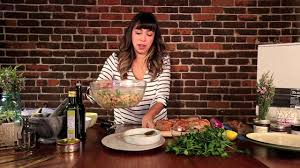 A Cozy Kitchen by Tuna Ayocote Blanco Bean Salad U2014 The Faretrade