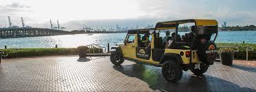 rent a jeep wrangler in miami miami tour jeep rental company tons of tours rentals