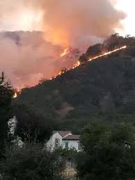 100 acre wildfire burning in gilroy sfgate