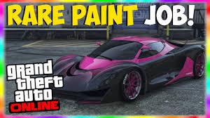 gta 5 rare paint jobs rare