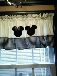 traditional disney mickey mouse window curtains u2013 muarju