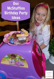 doc mcstuffins party ideas doc mcstuffins birthday party ideas family journal