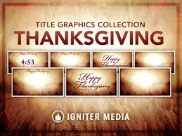 thanksgiving title graphics collection igniter media