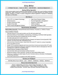 Post Resume For Government Jobs by Exciting Billing Specialist Resume That Brings The Job To You