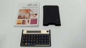 hp 12c vintage financial calculator hewlett packard hp 12c with