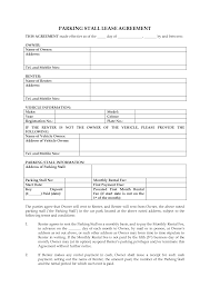 Free Lease Agreement Free Rental Agreement Template Word Fax Sheet Example Cash Payment
