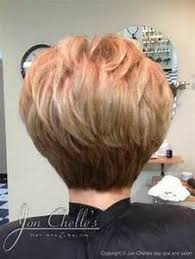 bob hairstyle cut wedged in back stacked wedge haircut photos back view 35 short stacked bob