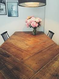 How To Build Dining Room Table Diy Dining Room Table Innovative New Touch On A Farm At Best Home