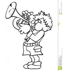 trumpeter stock vector image 44624828