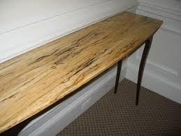 Maple Table Top by Spalted Maple Hall Table Finewoodworking