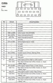 2003 ford explorer radio wiring diagram wiring diagram and