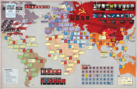 Central America Map Game by Twilight Struggle Game 3 Game Over Soviets Bury America