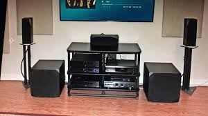 home theater audio emotiva basx home theater audio system review youtube