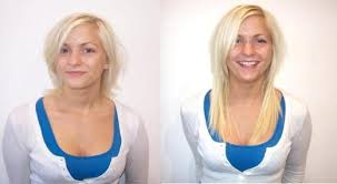 hair extensions for short hair before and after before and after hair extensions short to long ictendavraniyor