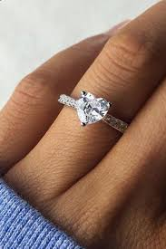heart shaped diamond engagement ring platinum heart shaped diamond engagement rings heart engagement