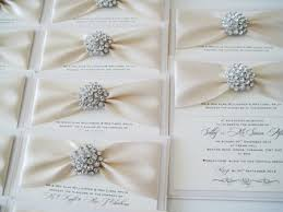 bling wedding invitations bling wedding theme diamante bling and ivory postcard style