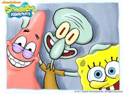 spongebob patrick and squidward spongebob the best wallpaper