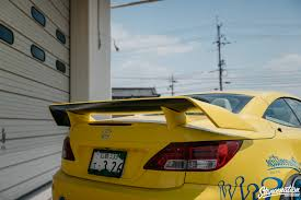 yellow lexus is spotlight lexus is c by 326 power anything cars the car